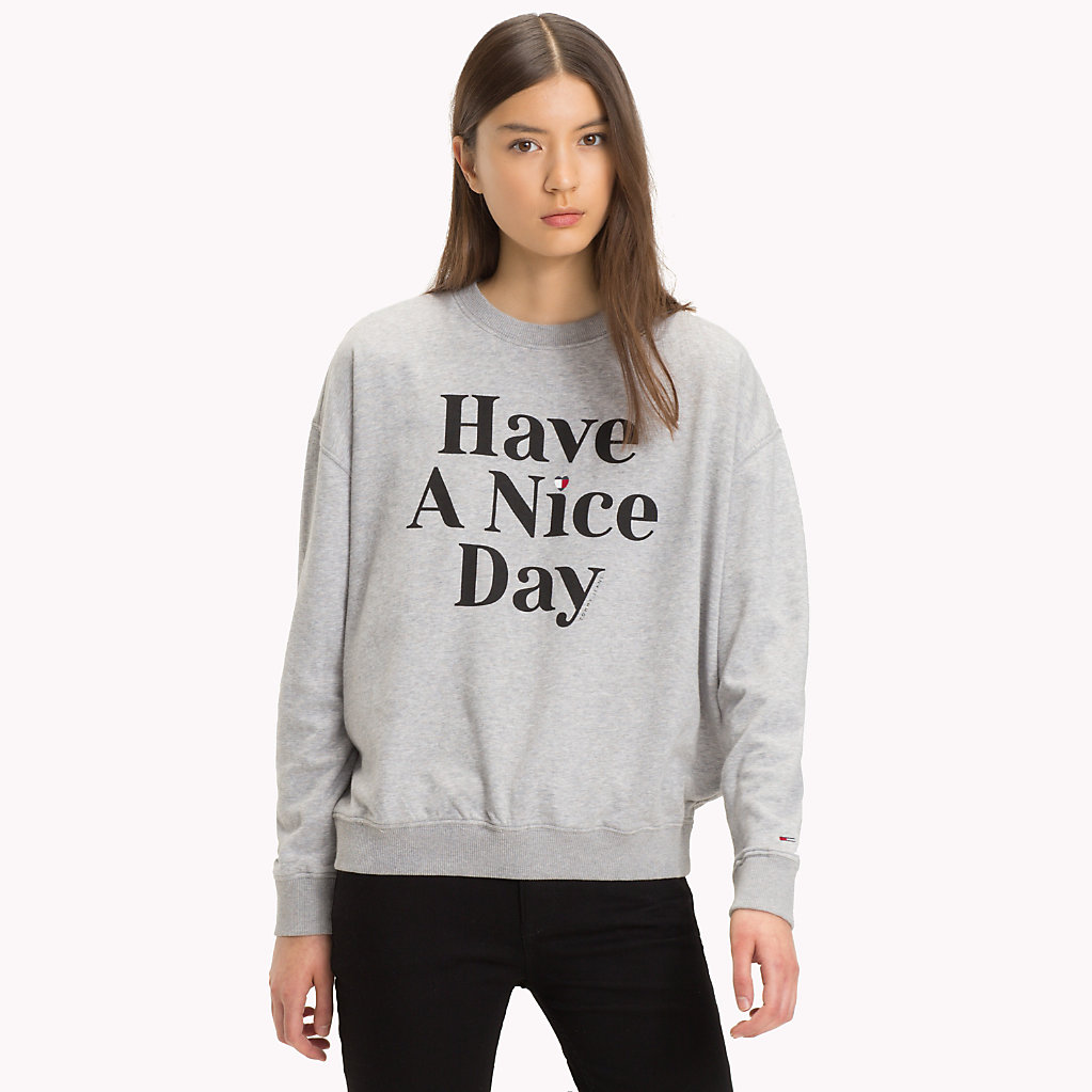 Have A Nice Day Sweatshirt Tommy Hilfiger