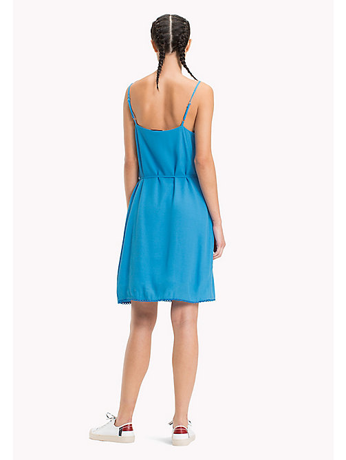 TOMMY JEANS Lightweight A-Line Dress - BLITHE - TOMMY JEANS Vacation Style - detail image 1