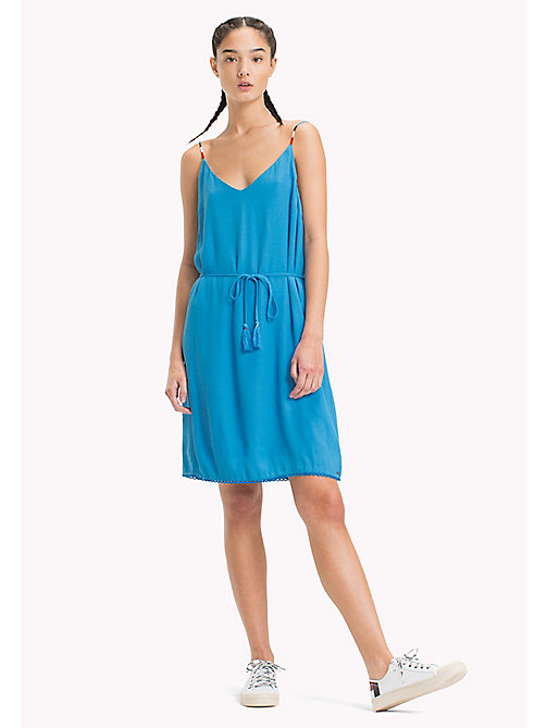 TOMMY JEANS Lightweight A-Line Dress - BLITHE - TOMMY JEANS Vacation Style - main image