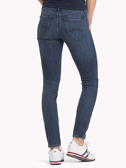 TOMMY JEANS Sophie Skinny Fit Jeans - HORIZON DARK BLUE STRETCH - TOMMY JEANS Clothing - detail image 1
