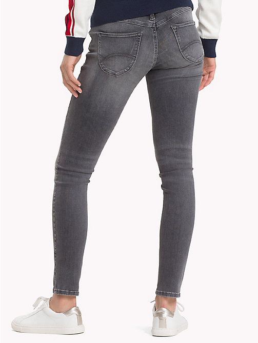 TOMMY JEANS Sophie Skinny Fit Jeans - STORM GREY STRETCH - TOMMY JEANS Clothing - detail image 1