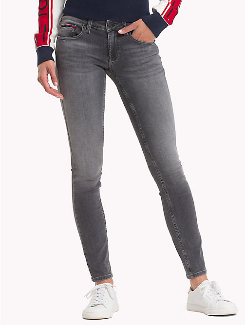 TOMMY JEANS Sophie Skinny Fit Jeans - STORM GREY STRETCH - TOMMY JEANS Skinny Jeans - main image