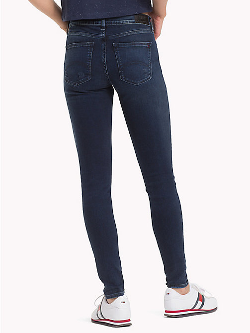 TOMMY JEANS Nora Distressed Skinny Fit Jeans - DYNAMIC SEA DARK BLUE STR - TOMMY JEANS Jeans - detail image 1