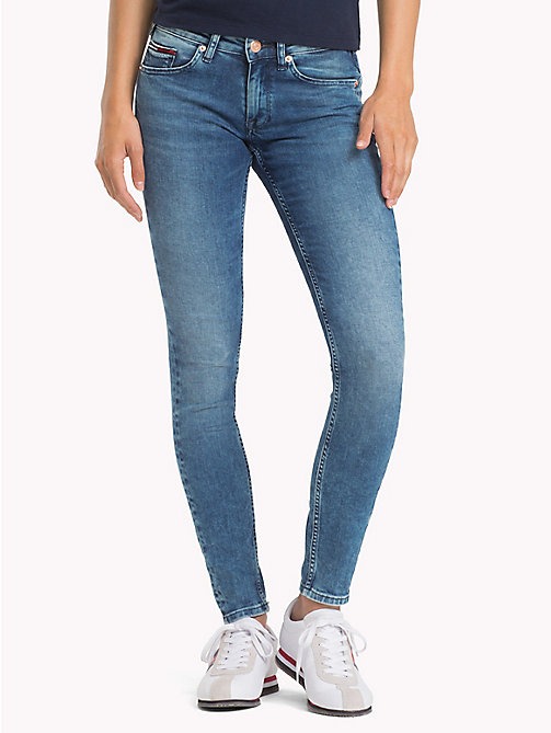 TOMMY JEANS Sophie Skinny Fit Jeans - DYNAMIC SEAL LIGHT BLUE STR - TOMMY JEANS Jeans - main image