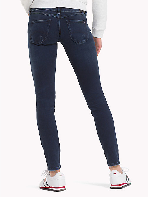 TOMMY JEANS Sophie Skinny Fit Jeans - DYNAMIC SEA DARK BLUE STR - TOMMY JEANS Jeans - detail image 1