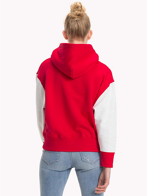 TOMMY JEANS Cropped Fit Hoodie mit Logo - SAMBA - TOMMY JEANS Sweatshirts & Kapuzenpullover - main image 1