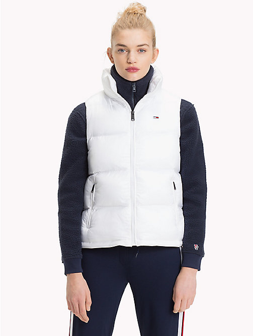 TOMMY JEANS Smanicato imbottito Tommy Classics - BRIGHT WHITE - TOMMY JEANS Tommy Classics - dettaglio immagine 1
