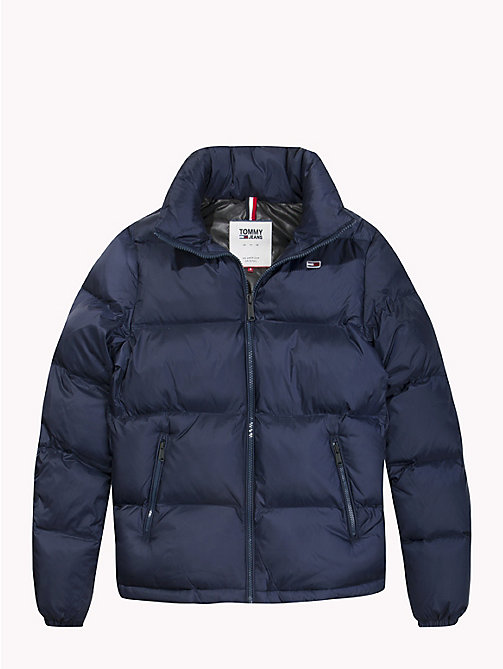 TOMMY JEANS Tommy Classics Padded Zip-Thru Jacket - BLACK IRIS - TOMMY JEANS Coats & Jackets - detail image 1