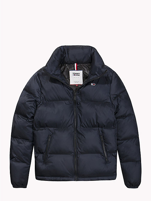 TOMMY JEANS Tommy Classics Padded Zip-Thru Jacket - TOMMY BLACK - TOMMY JEANS Coats & Jackets - detail image 1
