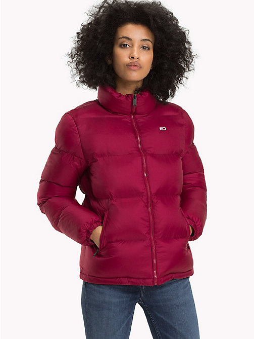TOMMY JEANS Giubbotto con zip Tommy Classics - RUMBA RED - TOMMY JEANS Tommy Classics - immagine principale