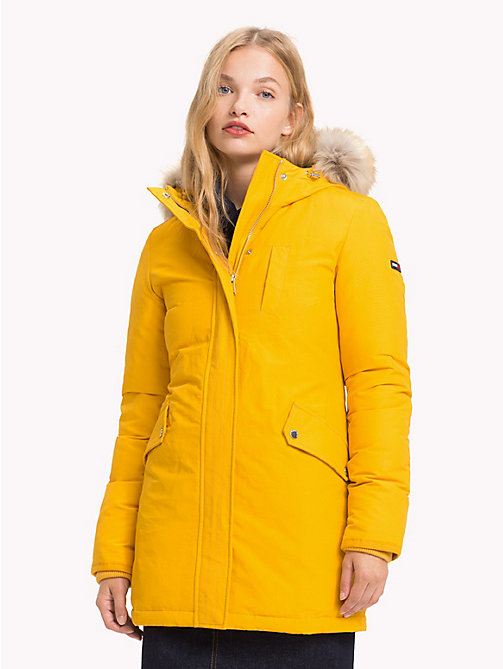 TOMMY JEANS Padded Slim Fit Jacket - MANGO MOJITO - TOMMY JEANS Coats & Jackets - main image