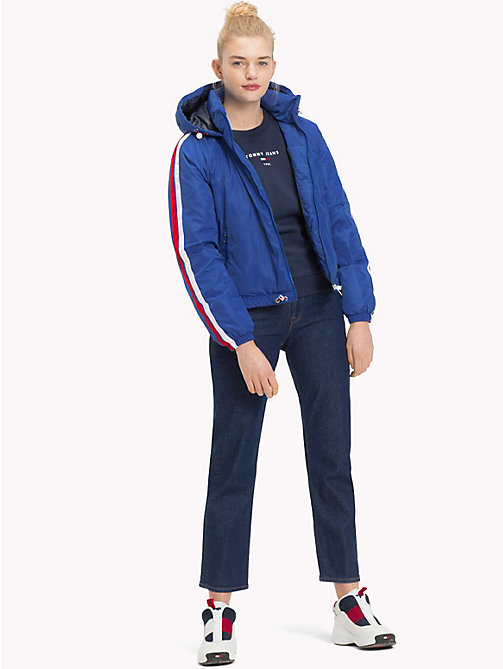 TOMMY JEANS Padded Signature Tape Jacket - SURF THE WEB - TOMMY JEANS Coats & Jackets - detail image 1