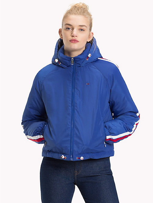 TOMMY JEANS Padded Signature Tape Jacket - SURF THE WEB - TOMMY JEANS Coats & Jackets - main image