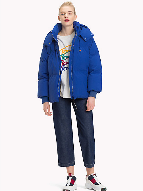 TOMMY JEANS Oversized Puffer Jacket - SURF THE WEB - TOMMY JEANS Coats & Jackets - detail image 1