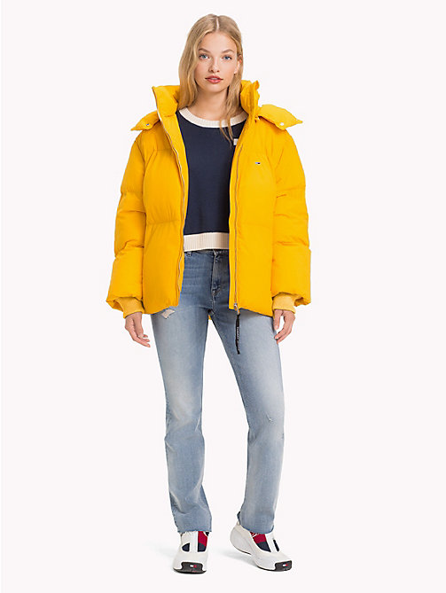 TOMMY JEANS Oversized Puffer Jacket - MANGO MOJITO - TOMMY JEANS Coats & Jackets - detail image 1