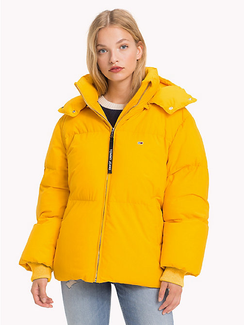 TOMMY JEANS Oversized Puffer Jacket - MANGO MOJITO - TOMMY JEANS Coats & Jackets - main image