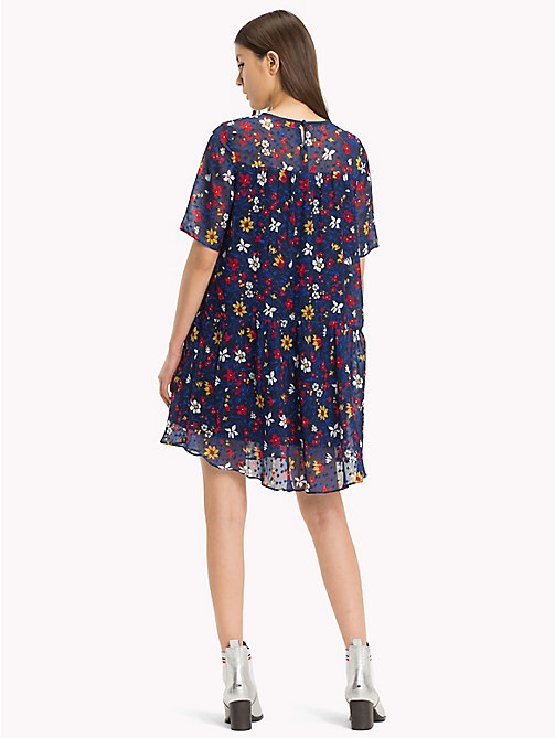TOMMY JEANS Dropped Waist Dress - VINTAGE FLORAL PRINT - TOMMY JEANS Mini - detail image 1