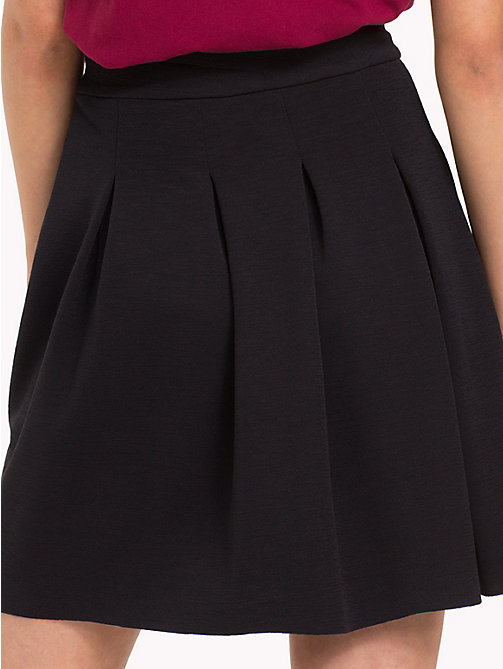 TOMMY JEANS Flare Fit College Skirt - TOMMY BLACK - TOMMY JEANS Trousers & Skirts - detail image 1