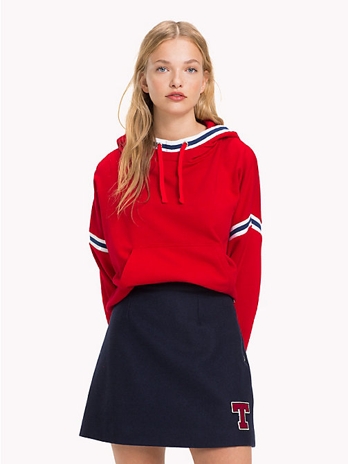 TOMMY JEANS A-Line Varsity Skirt - BLACK IRIS - TOMMY JEANS What to wear - main image