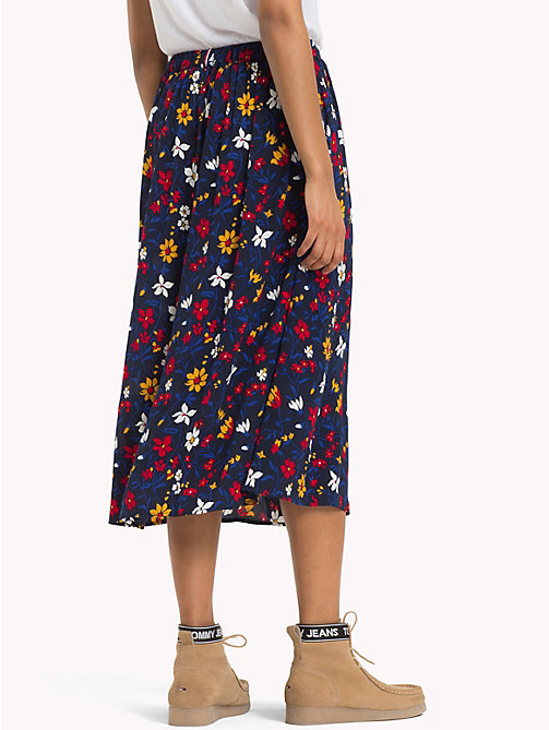 TOMMY JEANS Flared Floral Wrap Skirt - VINTAGE FLORAL PRINT - TOMMY JEANS Trousers & Skirts - detail image 1