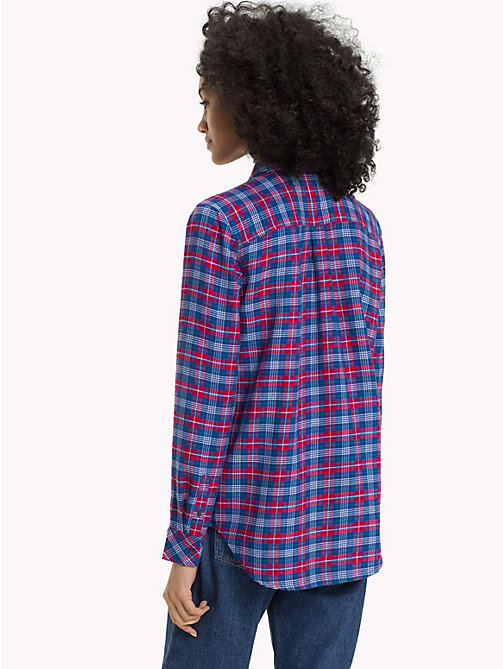 TOMMY JEANS Check Regular Fit Shirt - MULTI COLOR CHECK - TOMMY JEANS Trending - detail image 1