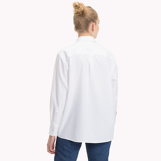 Camisa con logo de corte boyfriend  311d092400f