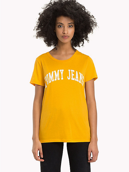 TOMMY JEANS Tommy Jeans Logo Top - MANGO MOJITO - TOMMY JEANS Sustainable Evolution - main image