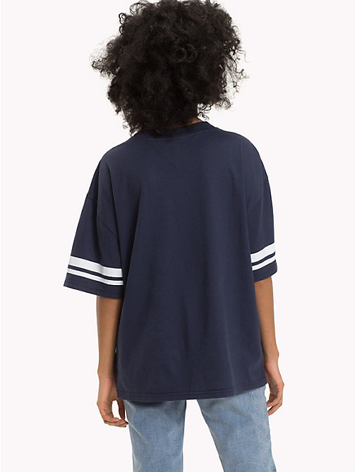 TOMMY JEANS Oversized Fit T-Shirt - BLACK IRIS - TOMMY JEANS Tops - main image 1