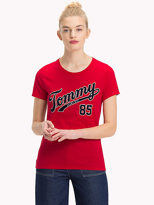 TOMMY JEANS Retro Logo Top - SAMBA - TOMMY JEANS Tops - main image