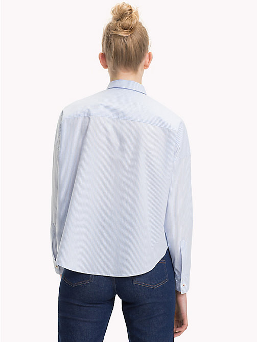 TOMMY JEANS Camisa con mangas distintivas - SERENITY / BRIGHT WHITE - TOMMY JEANS Tops - imagen detallada 1