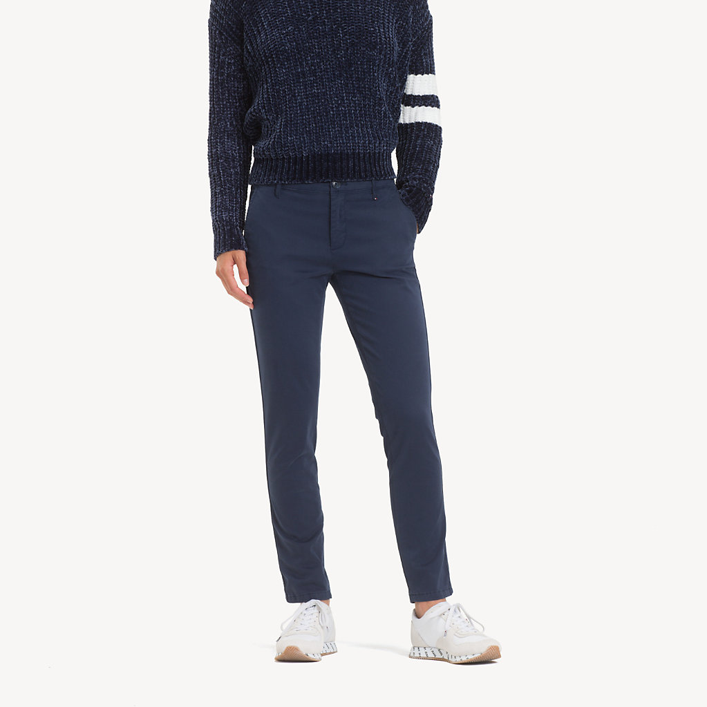 Tommy Hilfiger - Essential Mid Rise Chinos - 1