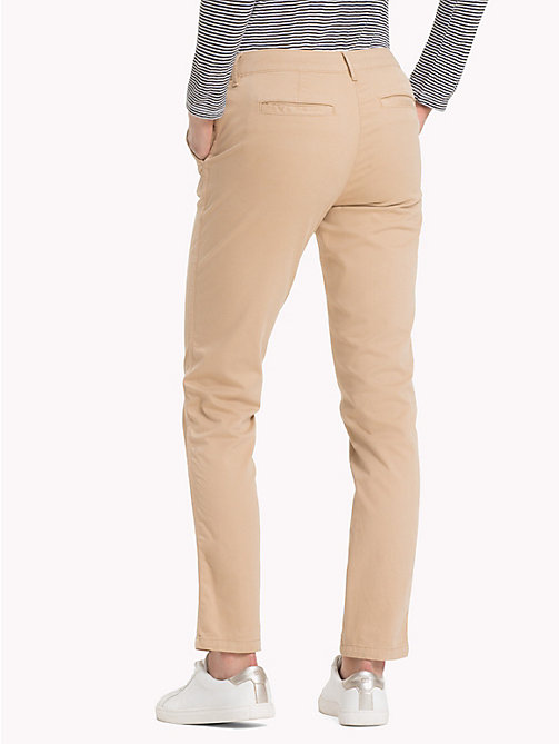 TOMMY JEANS Essential Mid Rise Chinos - INCENSE - TOMMY JEANS Trousers & Shorts - detail image 1