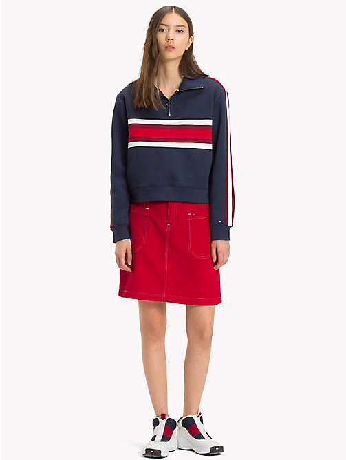 TOMMY JEANS Oversized Pocket Denim Skirt - SNAP SAMBA RIGID - TOMMY JEANS Dresses & Skirts - main image