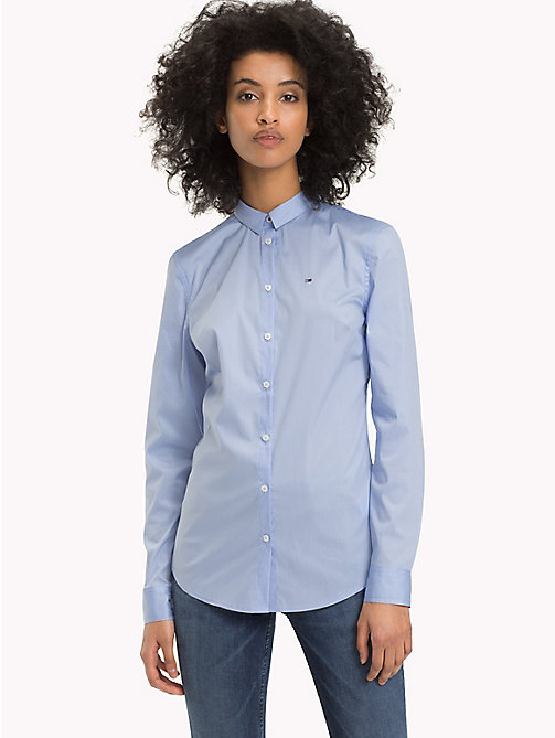 TOMMY JEANS Stretch Slim Fit Shirt - SERENITY - TOMMY JEANS Tops - main image
