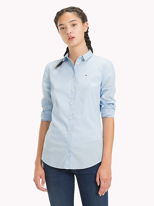 TOMMY JEANS Slim Fit Shirt - SKYWAY - TOMMY JEANS Tops - main image