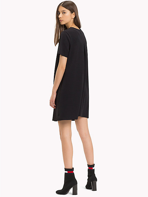 TOMMY JEANS Jersey A-Line Dress - TOMMY BLACK - TOMMY JEANS Mini - detail image 1