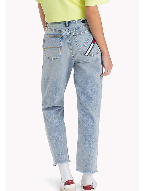TOMMY JEANS 90s Light-Wash Mom Jeans - LIGHT BLUE DENIM - TOMMY JEANS Capsule - detail image 1