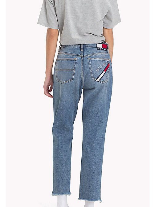 TOMMY JEANS 90s Mid-Wash Mom Jeans - MID BLUE DENIM - TOMMY JEANS Capsule - detail image 1