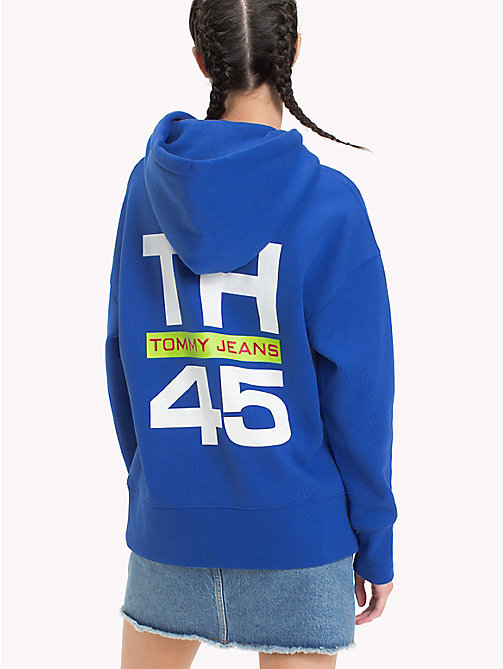 TOMMY JEANS Худи в стиле 90-х - SURF THE WEB - TOMMY JEANS TOMMY JEANS Capsule - подробное изображение 1