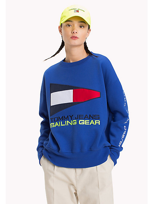 TOMMY JEANS 90s Sweatshirt mit Segel-Logo - SURF THE WEB - TOMMY JEANS Capsule - main image
