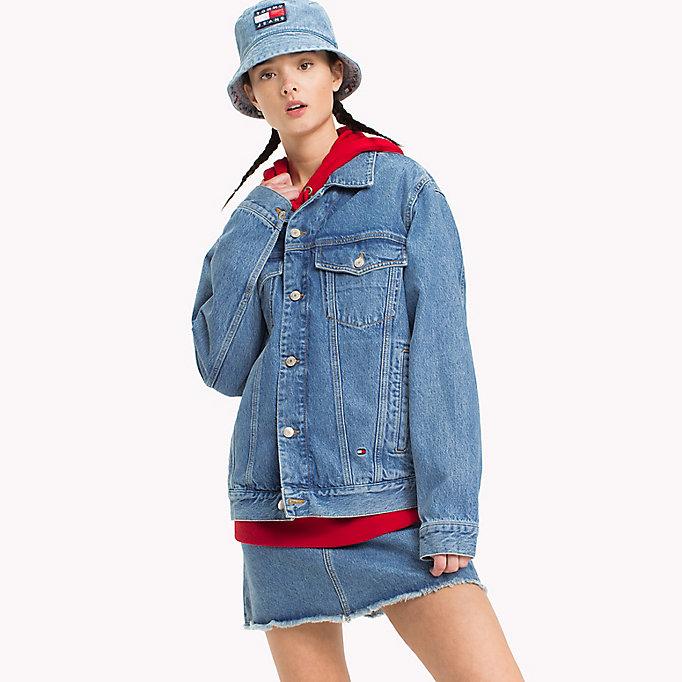 sale retailer 1fe18 002ac 90s Jeansjacke mit Logo | DENIM | Tommy Hilfiger
