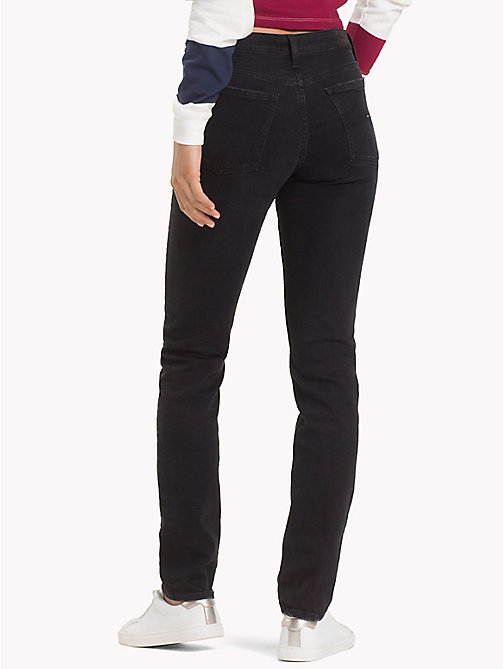 TOMMY JEANS TJ 1972 Slim Fit Jeans - GALWAY BLACK STRETCH - TOMMY JEANS Jeans - main image 1