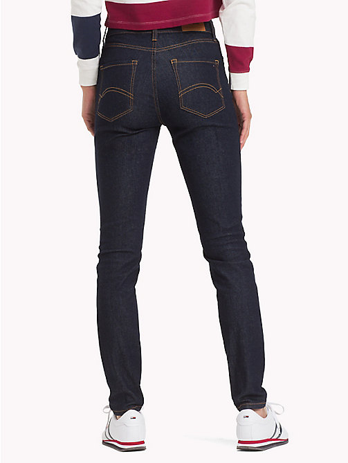 TOMMY JEANS Santana Skinny Fit Jeans - RAY RINSE BLUE STR - TOMMY JEANS Skinny Jeans - detail image 1