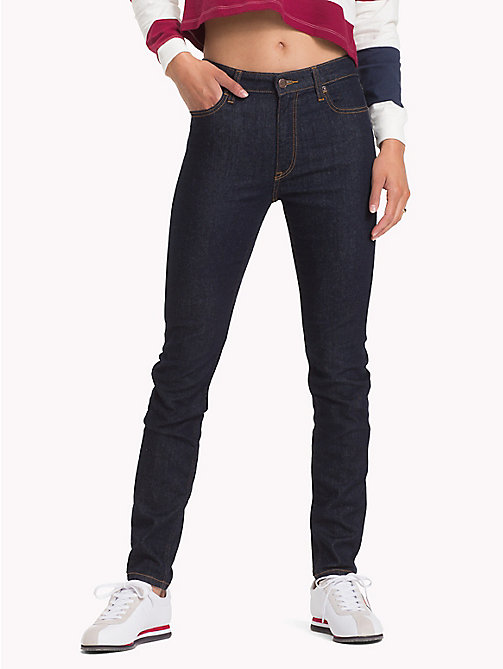 TOMMY JEANS Santana Skinny Fit Jeans - RAY RINSE BLUE STR - TOMMY JEANS Skinny Jeans - main image