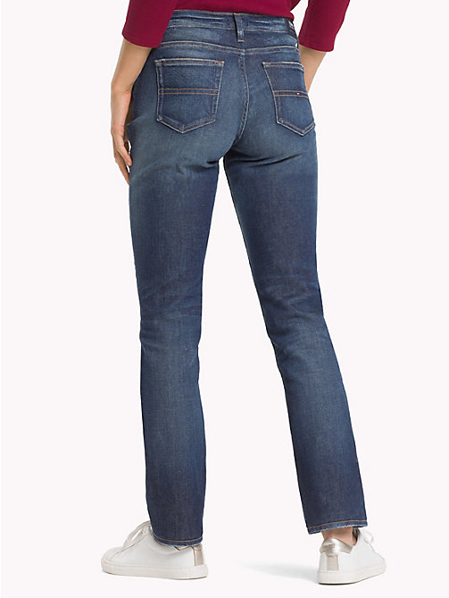 TOMMY JEANS 1985 Straight Leg Fit Jeans - PUFF DARK BLUE COMF - TOMMY JEANS Jeans - main image 1