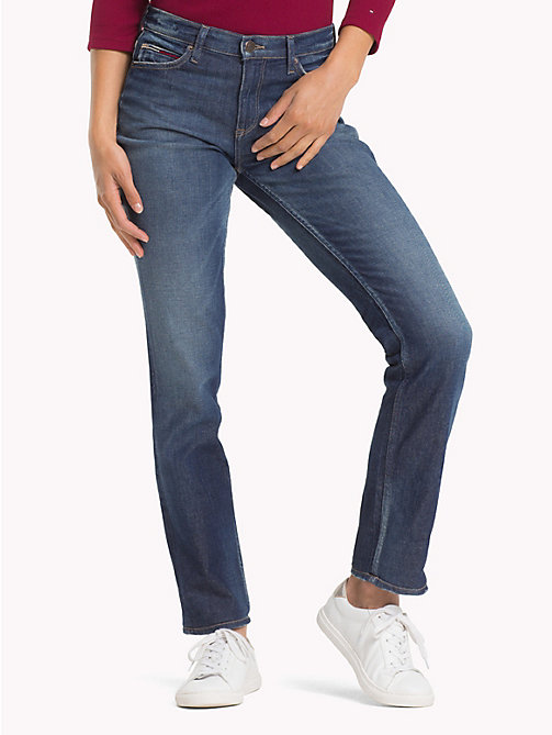 TOMMY JEANS 1985 Straight Leg Fit Jeans - PUFF DARK BLUE COMF - TOMMY JEANS Jeans - main image