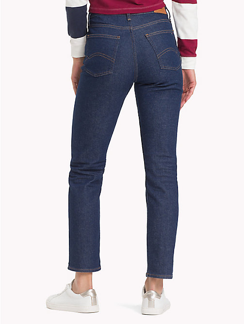 TOMMY JEANS High Rise Slim Fit Jeans - TOMMY CLASSIC RINSE - TOMMY JEANS What to wear - detail image 1