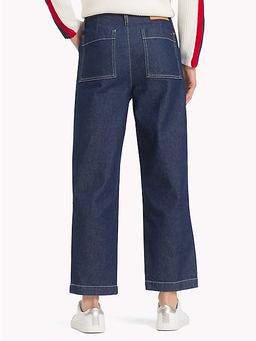 TOMMY JEANS Denim Cargo Trousers - CONTRAST BL RG - TOMMY JEANS Straight Fit Jeans - detail image 1