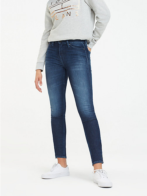 TOMMY JEANS Coolmax Skinny Fit Jeans - TJ COOL DK BLUE STR - TOMMY JEANS Jeans - main image