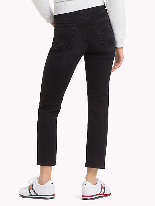 TOMMY JEANS High Rise Cropped Jeans - CITY BLACK COMFORT - TOMMY JEANS Jeans - detail image 1